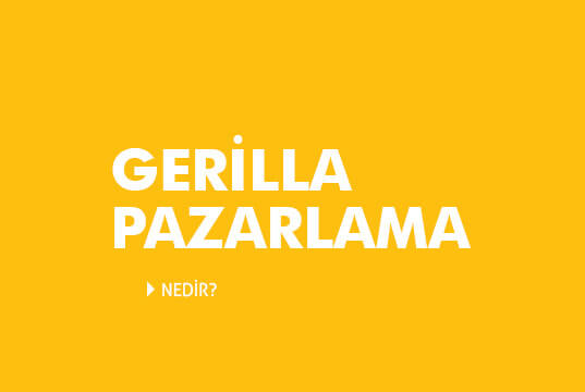 Gerilla Pazarlama